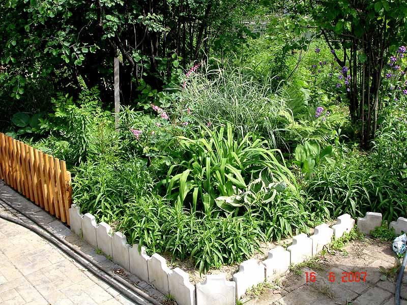 Садовое благоустройство своими руками
